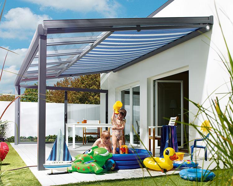 l2 - Markisen für Terassendächer