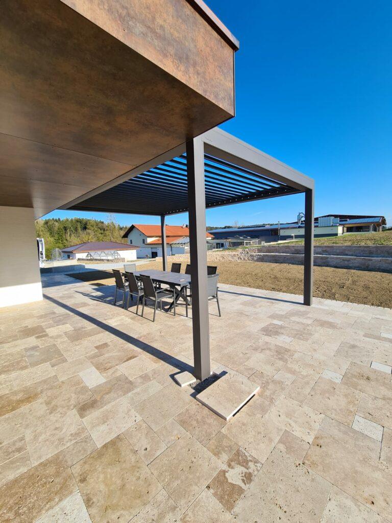 Hafner Metalldesign Terrassenüberdachung