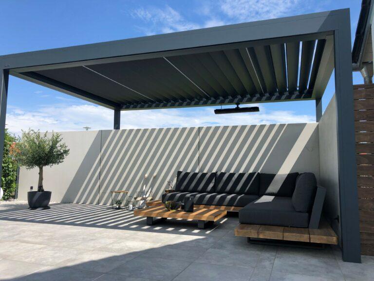 Pergola Terrassendach Hafner Metalldesign